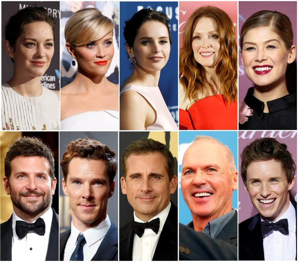 cotillard-witherspoon-jones-moore-pike-cooper-cumberbatch-carell-keaton-redmayne