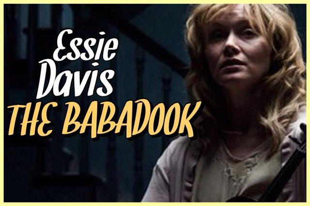 10 - Essie Davis - The Babadook