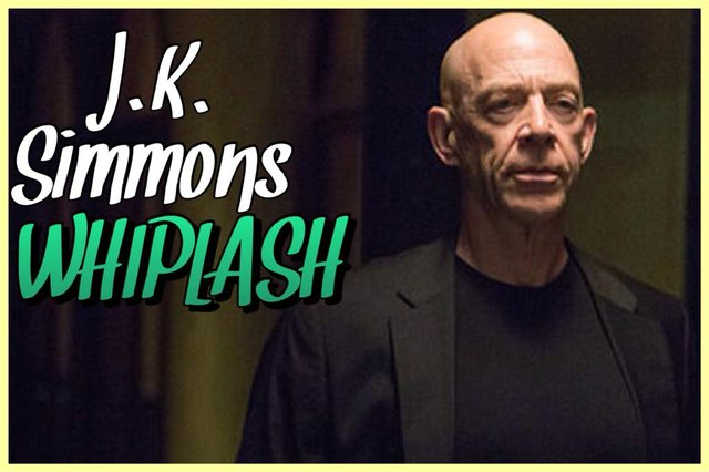 14 - J.K. Simmons - Whiplash