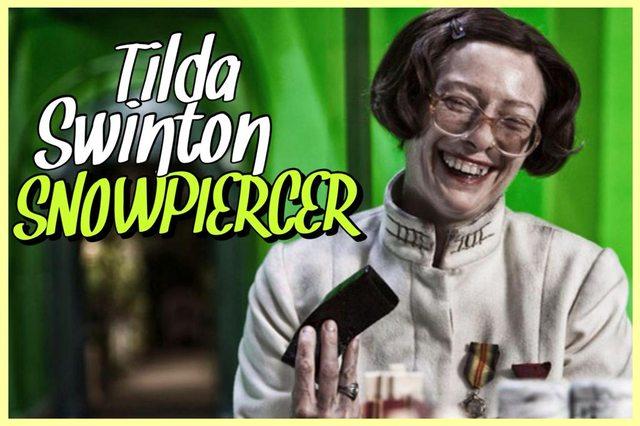 16 - Tilda Swinton - Snowpiercer