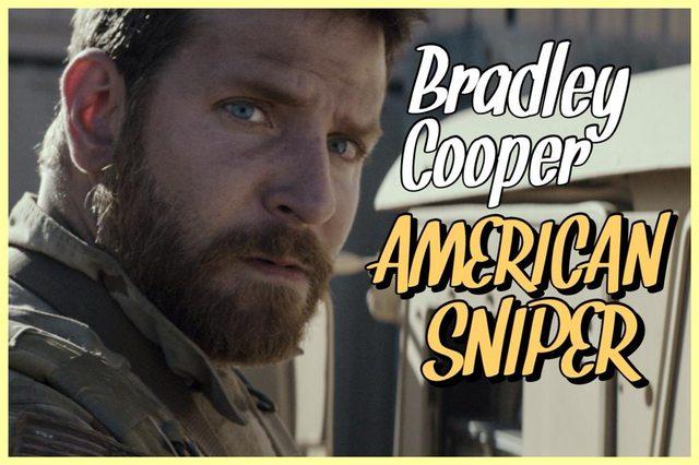 28 - Bradley Cooper - American Sniper