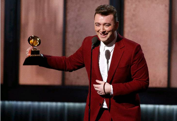 Sam Smith, winner of four Grammys