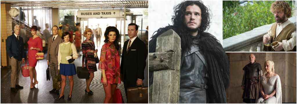 Mad Men and Game of Thrones will duke it out at the Producers Guild Awards next month