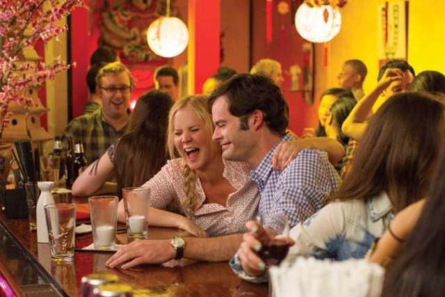 Amy Schumer and Bill Hader bring the laughs to 'Trainwreck'