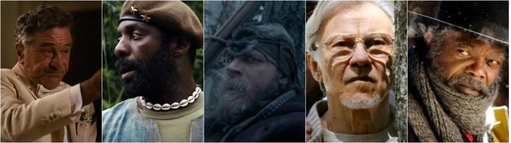 2016-oscar-predictions-best-supporting-actor-august-robert-de-niro-idris-elba-tom-hardy-harvey-keitel-samuel-l-jackson-gold-rush-gang