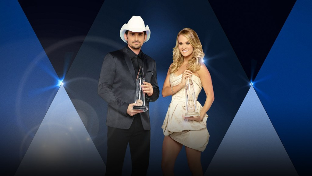 Brad Paisley and Carrie Underwood are your hosts for the 49th Country Music Association Awards