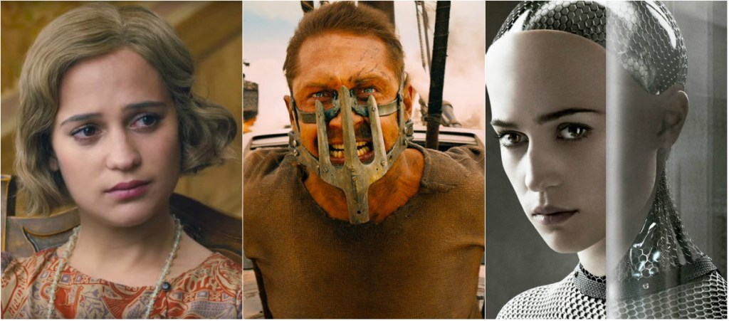 Mad Max: Fury Road Rules Again But Alicia Vikander Scores Twice