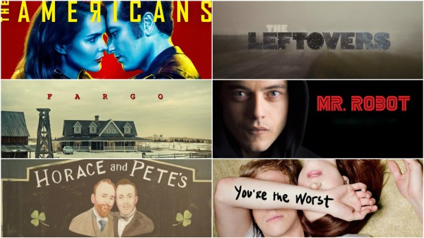 The Americans, The Leftovers, Fargo, Mr. Robot, Horace and Pete and You're the Worst scored top noms at the 2016 AW Emmys