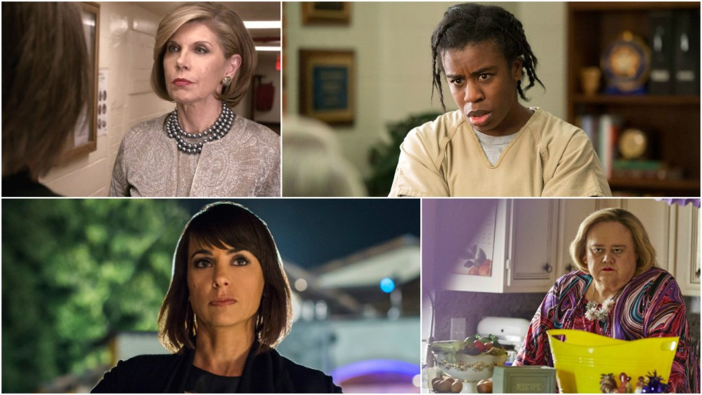 Emmy stalwarts like Christine Baranski and Uzo Aduba Snubbed While Bottom of the Alphabet Newcomers Constance Zimmer and Louie Anderson Got Nominated
