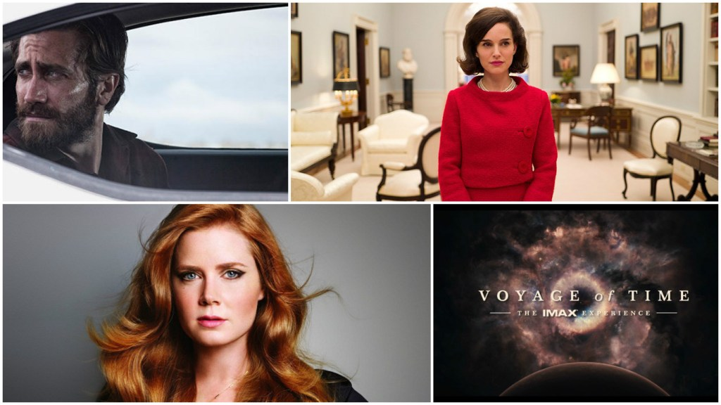 Jake Gyllenhaal, Natalie Portman, Amy Adams and Terrence Malick films will hit the Lido at the Venice Film Festival