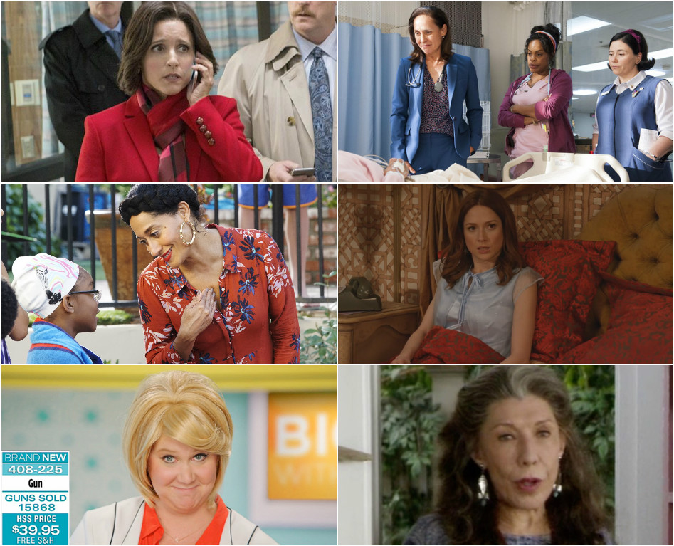 Lead Actress in a Comedy Series - 5 for JLD or Will Metcalf