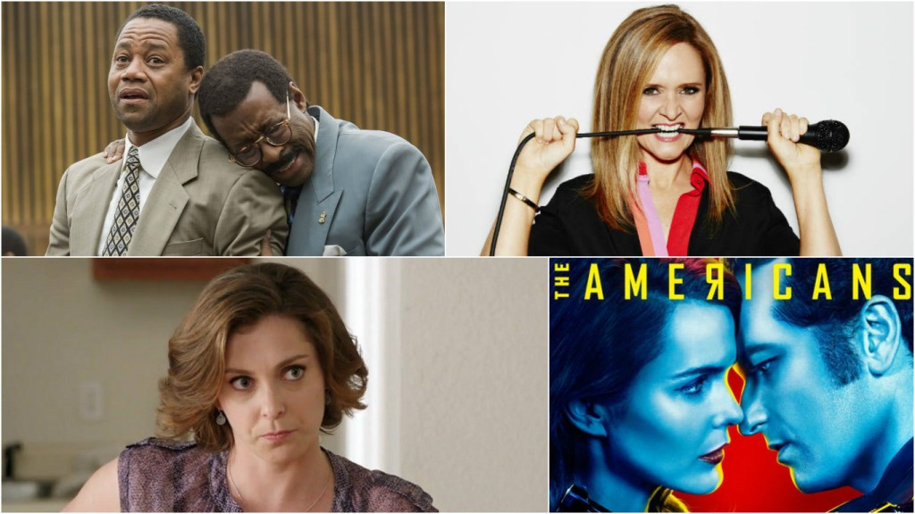 2016 TCA Winners: The People v O.J. Simpson, Samantha Bee, Rachel Bloom, The Americans