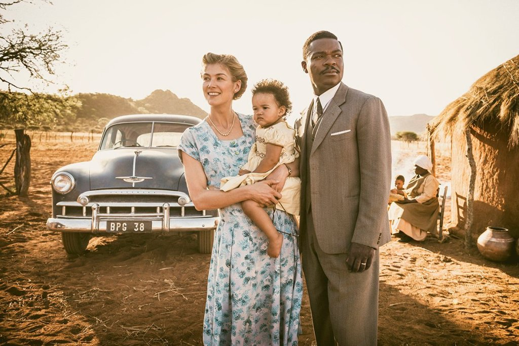 Rosamund Pike and David Oyelowo search for A United Kingdom