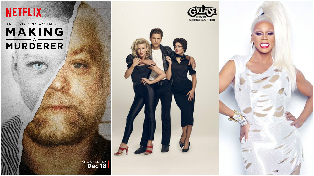 Making a Murderer and Grease Live were top winners, RuPaul wins first Emmy
