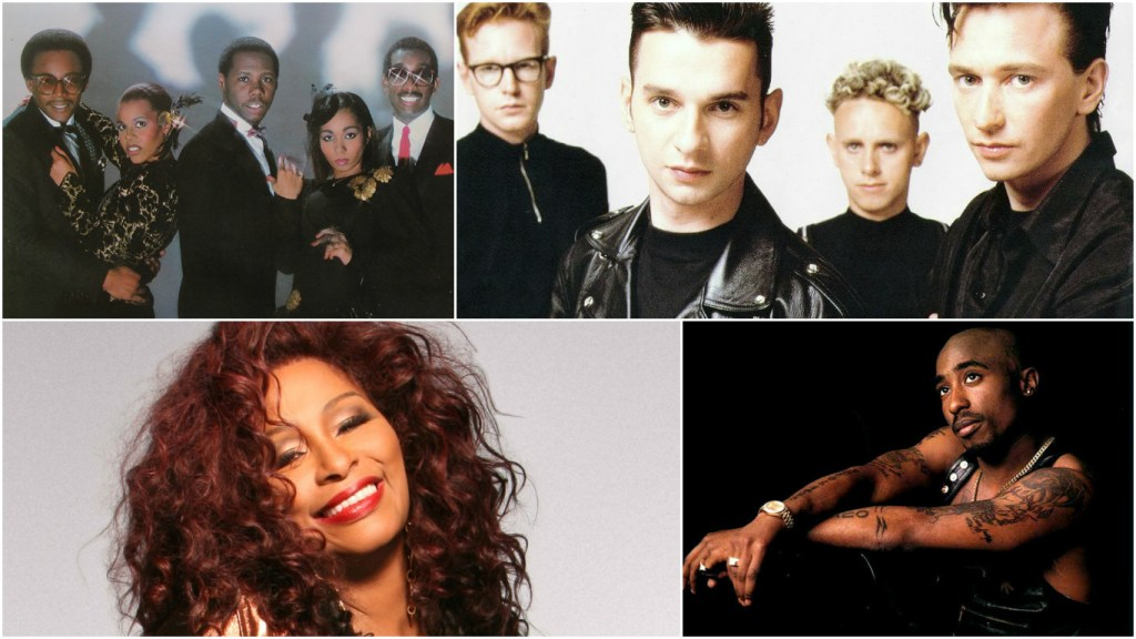 Chic, Depeche Mode, Chaka Khan, Tupac among 2017 Rock and Roll Hall of Fame nominees