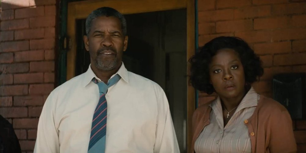 Fences Screens; Denzel Washington and Viola Davis Soar Up Oscar Charts