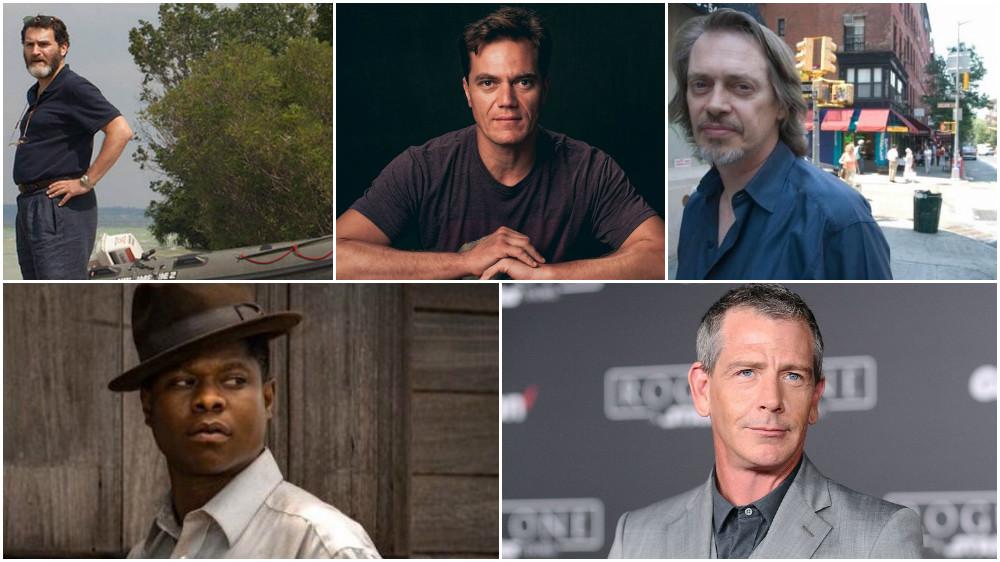 Top: Michael Stuhlbarg, Michael Shannon, Steve Buscemi  Bottom: Jason Mitchell, Ben Mendelsohn