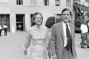 Katharine Graham and Ben Bradlee (photo: The Atlantic)