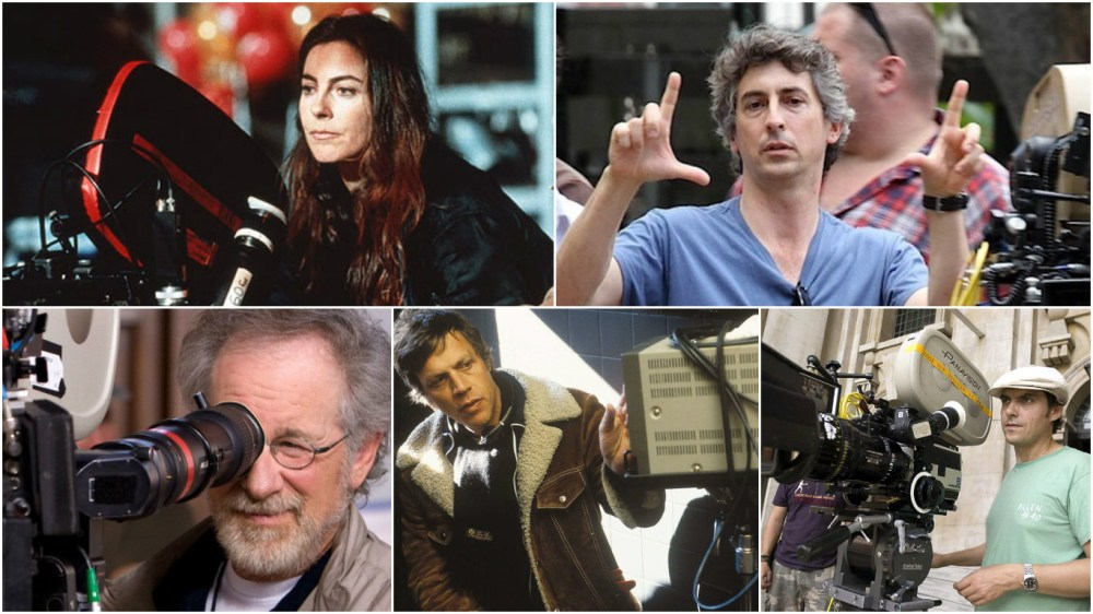 Top: Kathryn Bigelow, Alexander Payne Bottom: Steven Spielberg, Todd Haynes, Joe Wright