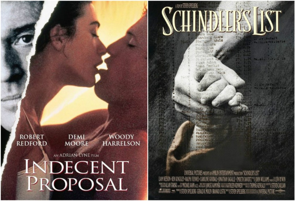 Worst-picture-best-picture-indecent-proposal-schindlers-list-1993