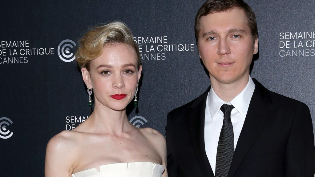 "CANNES, FRANCE - MAY 09:  (L-R) Actress Carey Mulligan, Director Paul Dano and writer/executive producer Zoe Kazan attend the photocall for ""Wildlife""  during the 71st annual Cannes Film Festival at L'Espace Miramar on May 9, 2018 in Cannes, France.  (Photo by Andreas Rentz/Getty Images)"