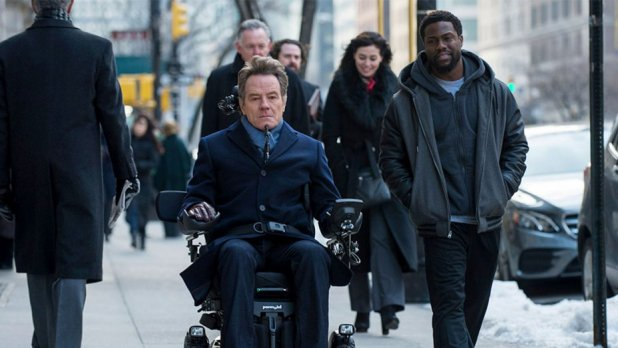trailer for �the upside� with bryan cranston kevin hart