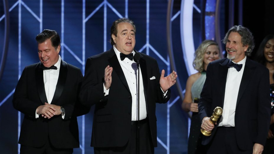 Nick Vallelonga, co-writer and co-producer of Green Book at last Sunday's Golden Globes