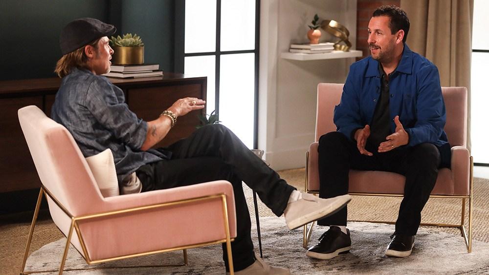 Brad Pitt and Adam Sandler