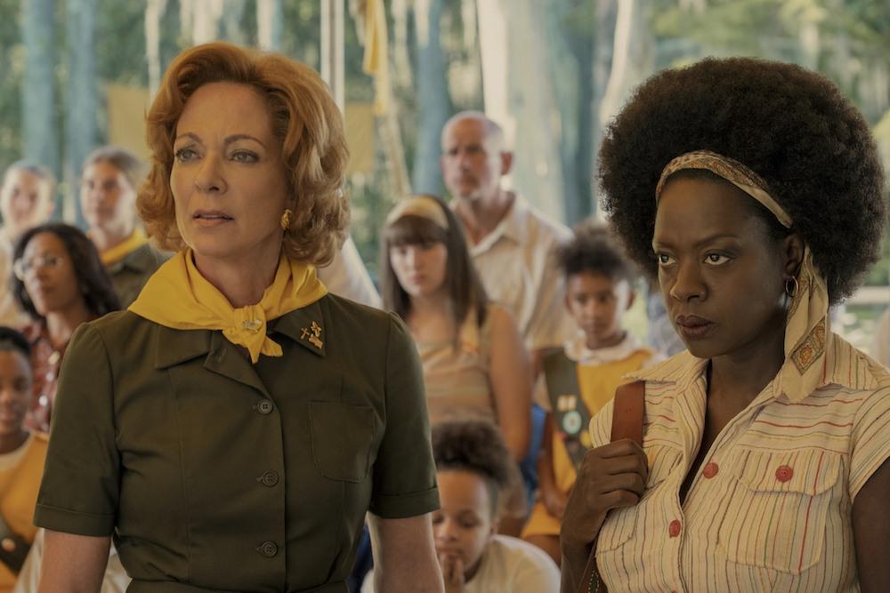 TROUPE ZERO featuring Allison Janney and Viola Davis courtesy of Amazon Studios.