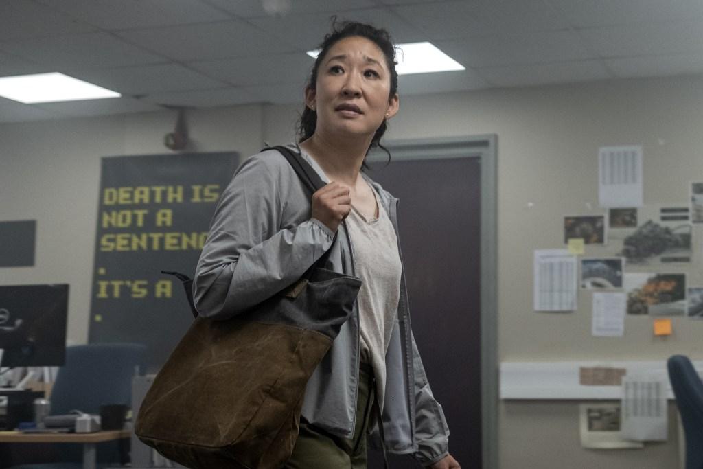 Sandra Oh as Eve Polastri - Killing Eve _ Season 3, Episode 1 - Photo Credit: Laura Radford/BBCA