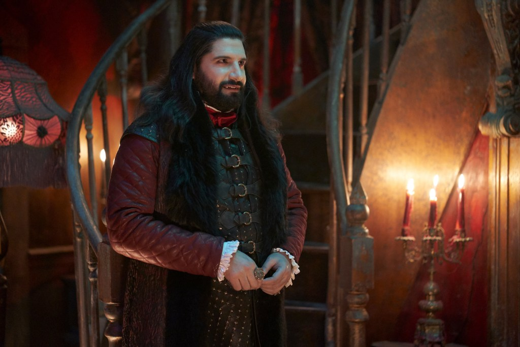 """WHAT WE DO IN THE SHADOWS -- """"The Return"""" -- Season 2, Episode 7 (Airs May 20) Pictured: Kayvan Novak as Nandor. CR: Russ Martin/FX"""