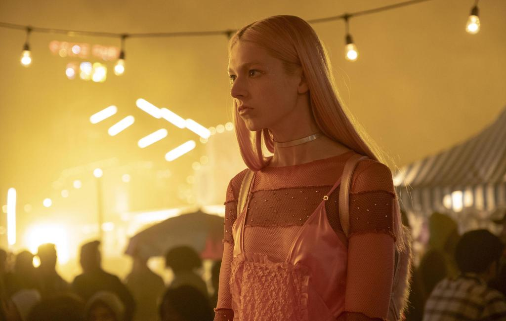 W3KRY1 Hunter Schafer, Euphoria (2019) Photo Credit: Eddy Chen-HBO / The Hollywood Archive