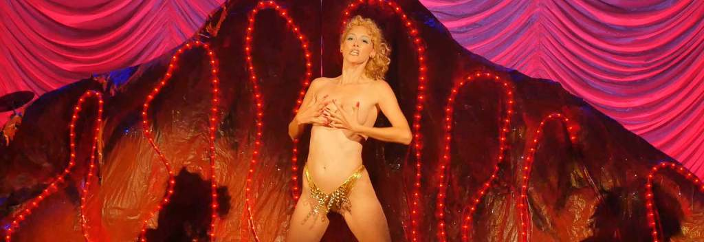 From the Peaches Christ annual live production of Showgirls, featured in YOU DON'T NOMI (Peaches Christ/Tribeca Film Festival)