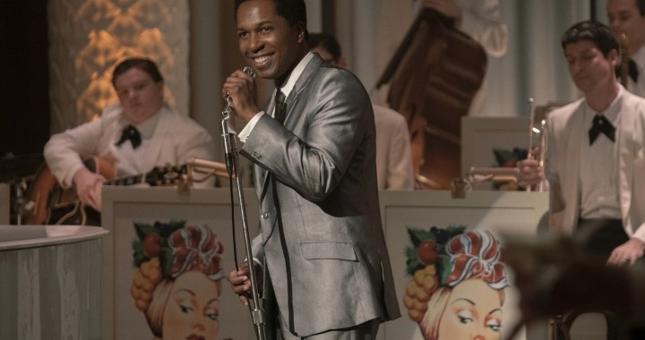 Leslie Odom Jr. stars in ONE NIGHT IN MIAMI Photo: Patti Perret/Amazon Studios