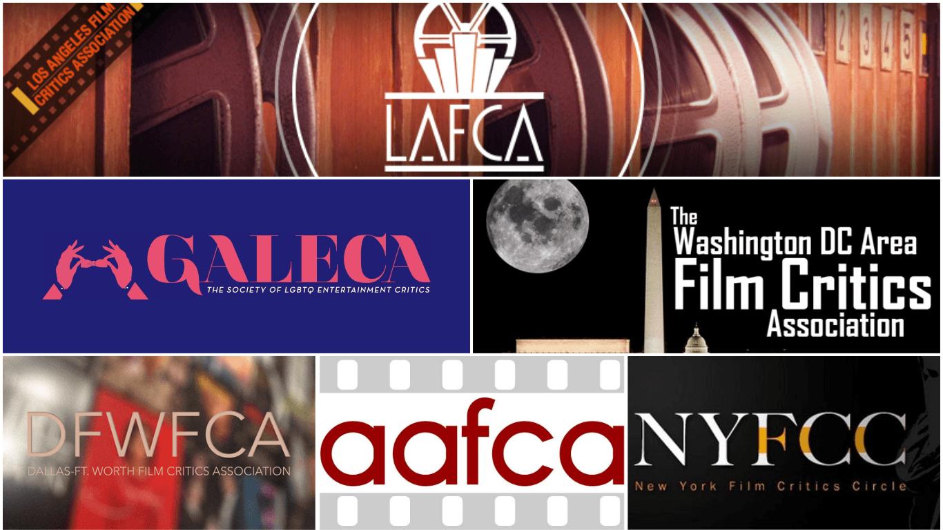 temporada de premios cinematográficos. Premios de las asociación y círculos de críticos de Estados Unidos