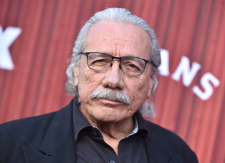 Los,Angeles,-,May,29:,Edward,James,Olmos,Arrives,For