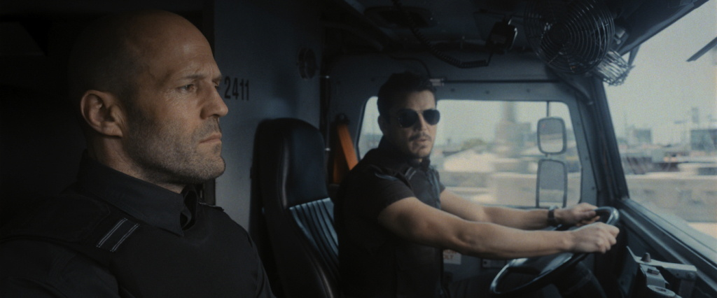 Jason Statham stars as H and Josh Hartnett stars as Boy Sweat Dave in director Guy Ritchie's WRATH OF MAN, A Metro Goldwyn Mayer Pictures film. Photo credit: Metro Goldwyn Mayer Pictures © 2021 Metro-Goldwyn-Mayer Pictures Inc. All Rights Reserved
