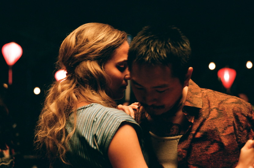 """Alicia Vikander (left) stars as """"Kathy"""" and Justin Chon (right) stars as """"Antonio"""" in BLUE BAYOU, a Focus Features release. Credit : Focus Features"""