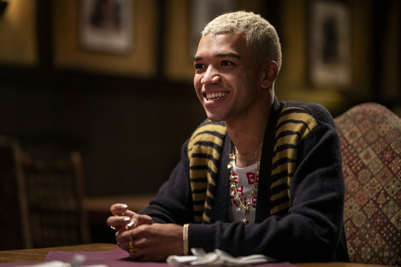 Chester on his date with Bo. (Warrick Page/HBO)