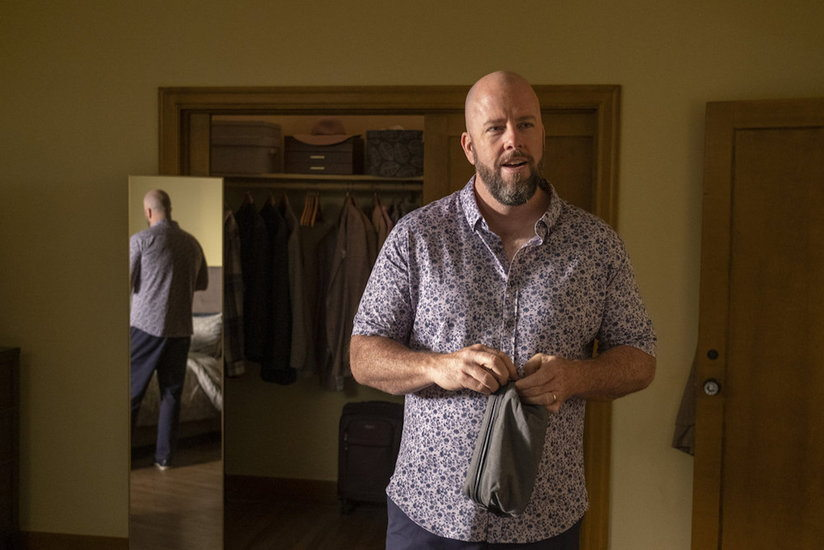 """THIS IS US -- """"The Adirondacks"""", Episode 516 -- Pictured: Chris Sullivan as Toby -- (Photo by: Ron Batzdorff/NBC)"""
