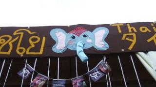 タイ語学科は象さんが目印