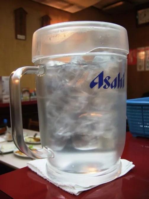 アサヒビールのピッチャー