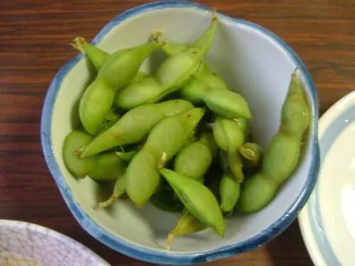 小鉢は枝豆