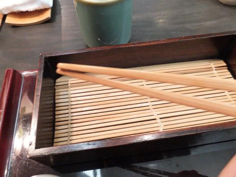 箸がとても使いやすい