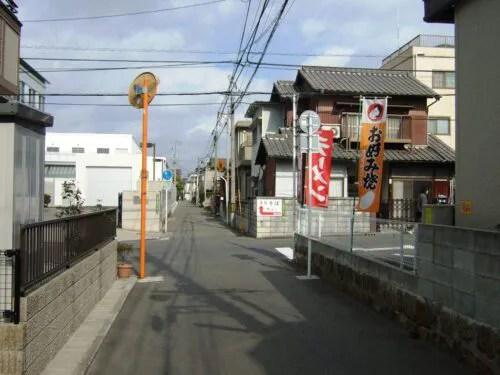 宇品の住宅街