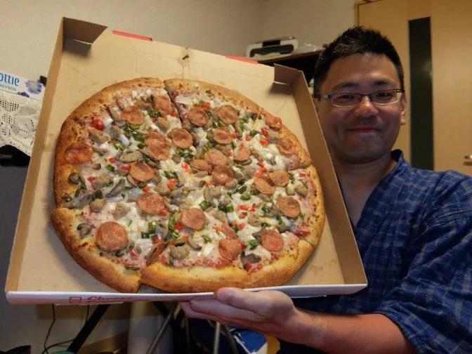 これが18インチピザ