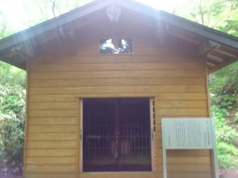 三斗小屋温泉神社