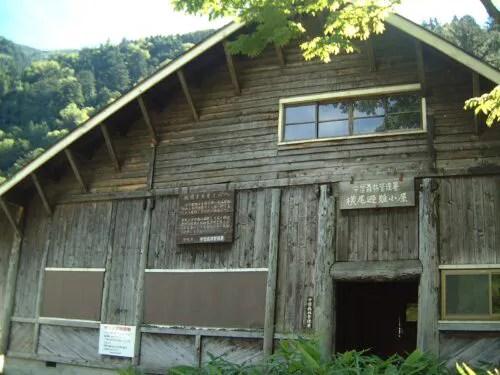 横尾避難小屋