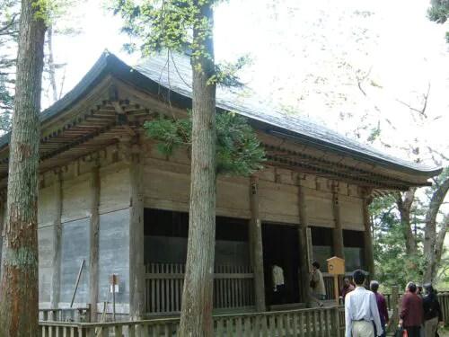 昔使われていた「金色堂の覆い」