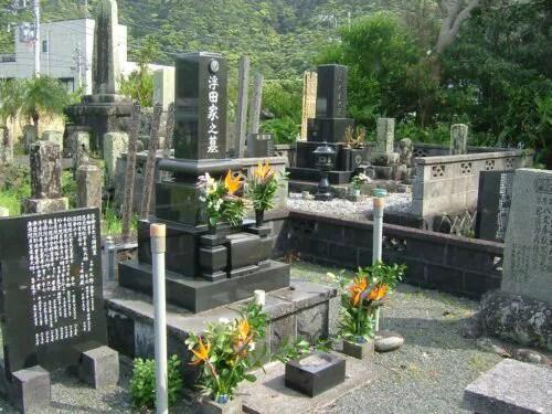 石山留五郎墓